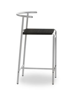 Caf� Chair, Metal stool for bar and kitchen