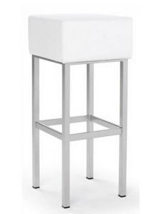 CG 89721 SG, Stool with padded square seat