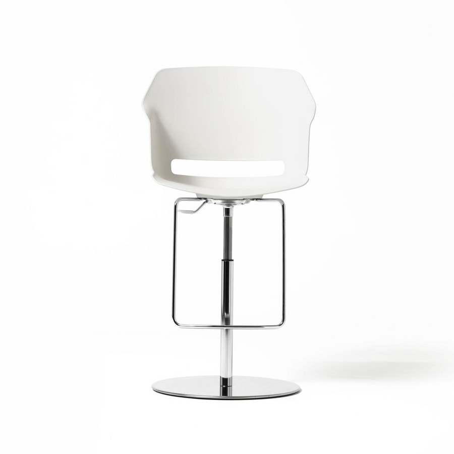 Clop stool, Stool with gas lift for offices