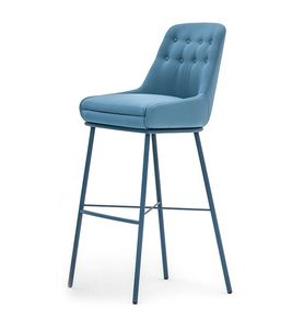 Danielle 03685K, Stool with capitonn� back