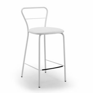 Koda-SG65, Stool with resistant eco-leather seat