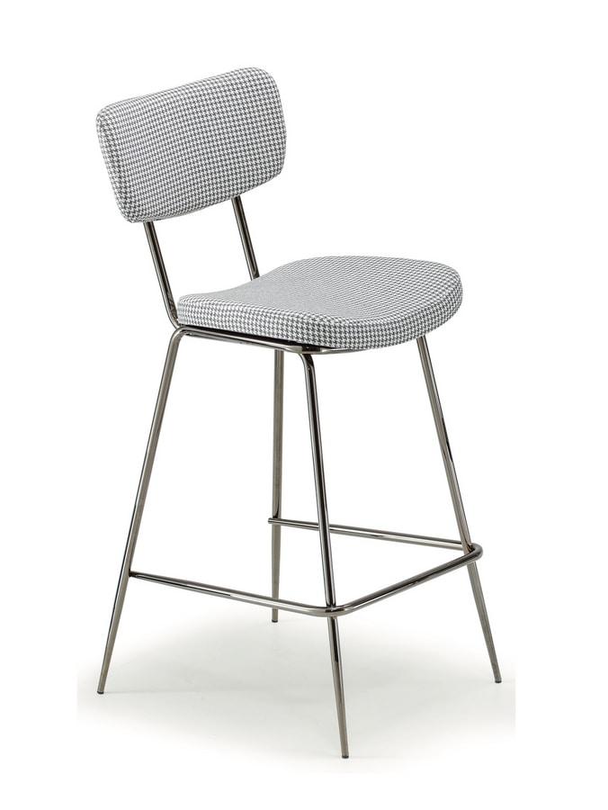 SG 1994, Metal stool, padded