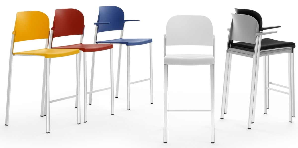 Convention - B, Stackable stools
