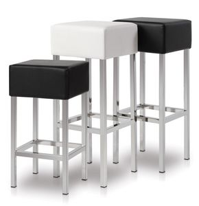 Cubo, Stool with square seat