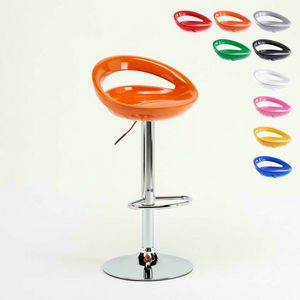 Adjustable kitchen bar stool Hollywood � SGA054HOL, Adjustable high stool, with ergonomic 360� seat