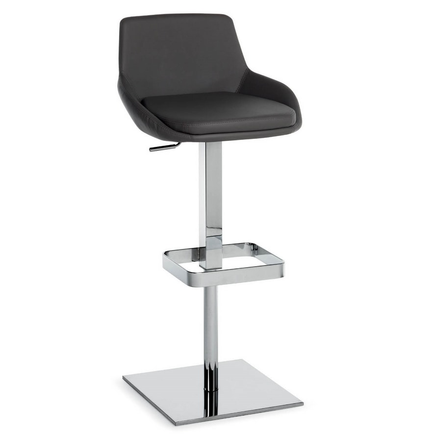 Baxi SG, Modern stool suited for bars and kitchens