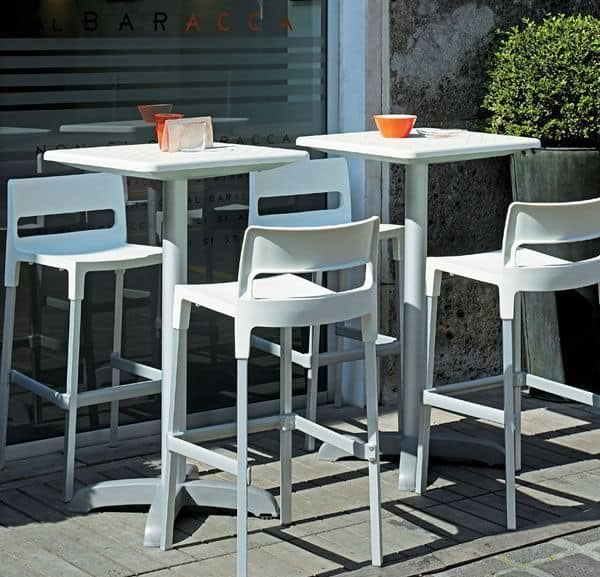 Divo stool, Stackable stool for outdoor, modern style