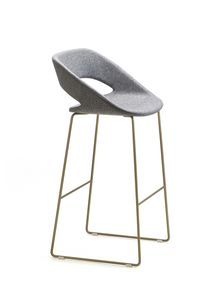 Kabira ST, Barstool with sled base