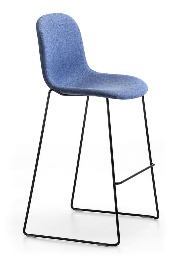 Máni Fabric ST-SL, Stackable stool with fixed height