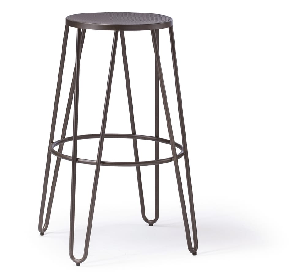 SG 505, Stackable metal stool without backrest