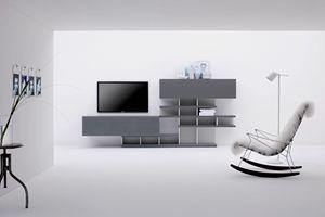 CHARLOTTE 149, Modular wall system for living room