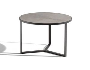 Art.Y, Round coffee table with metal structure