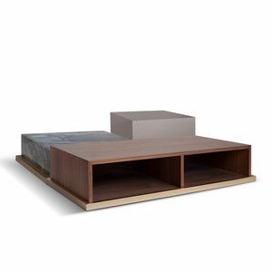 Brick, Coffee tables with a linear design