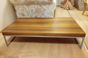 Coffee table 04, Modern rectangular coffee table