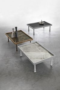 FRAME L TL529, Coffee table with tray top