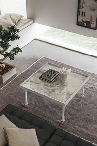 FRAME M TL528, Square coffee table for living room