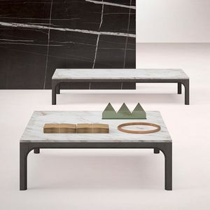 Prism small table, Coffee table with marble top