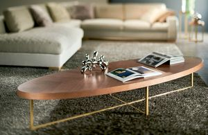 Sal�, Oval or round coffee tables