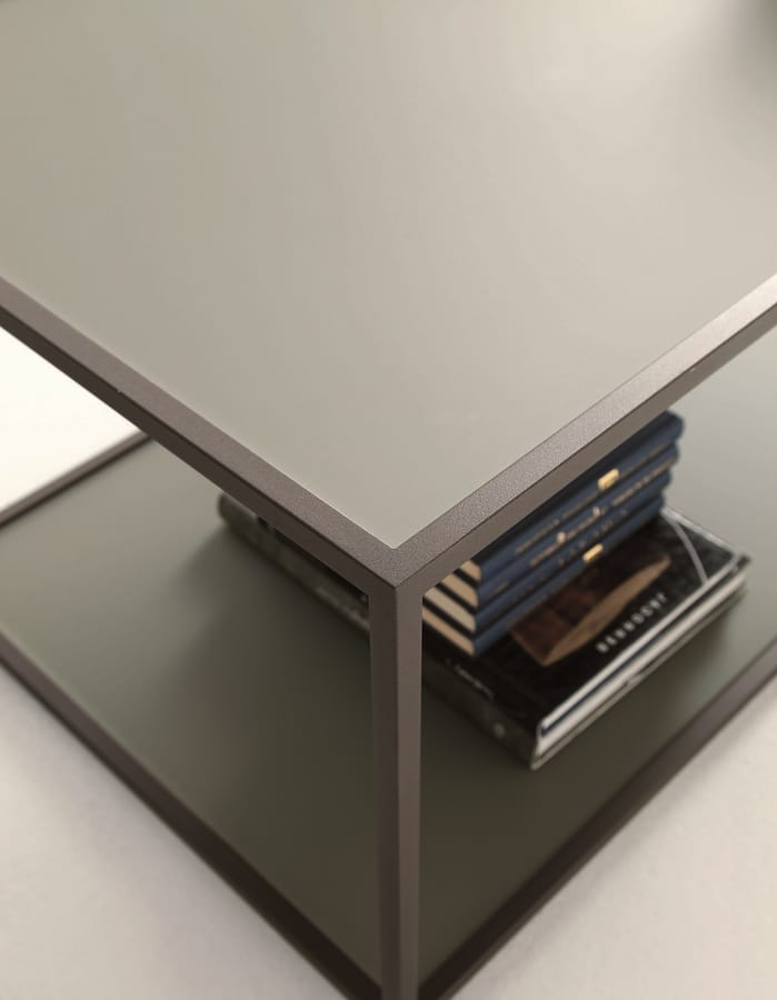 t112 square, Small square table with two tops