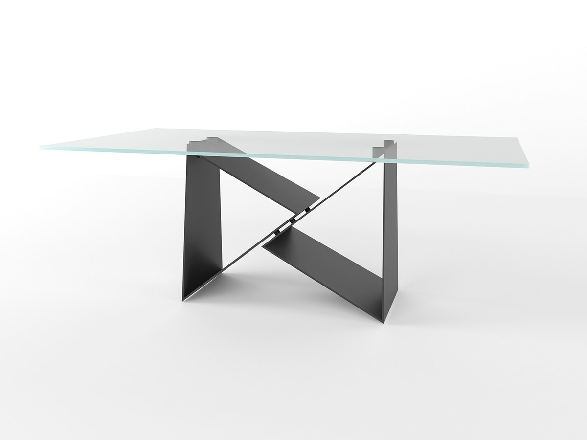 Eiger Light, Table with geometric base