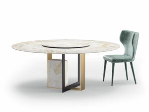 Moore, Table with marble top
