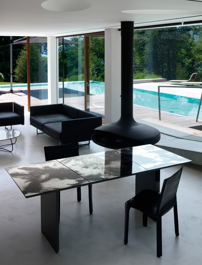 Live 265, Table with mirror top