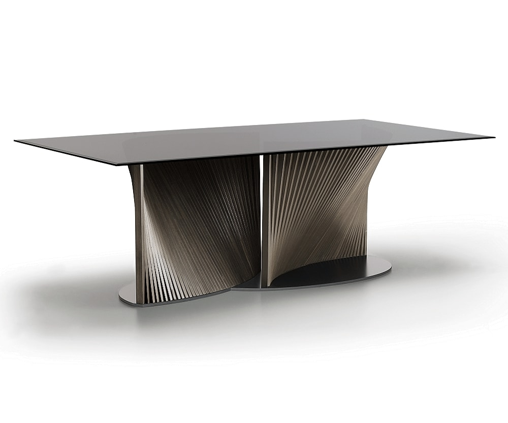 Petal, Table with wavy base