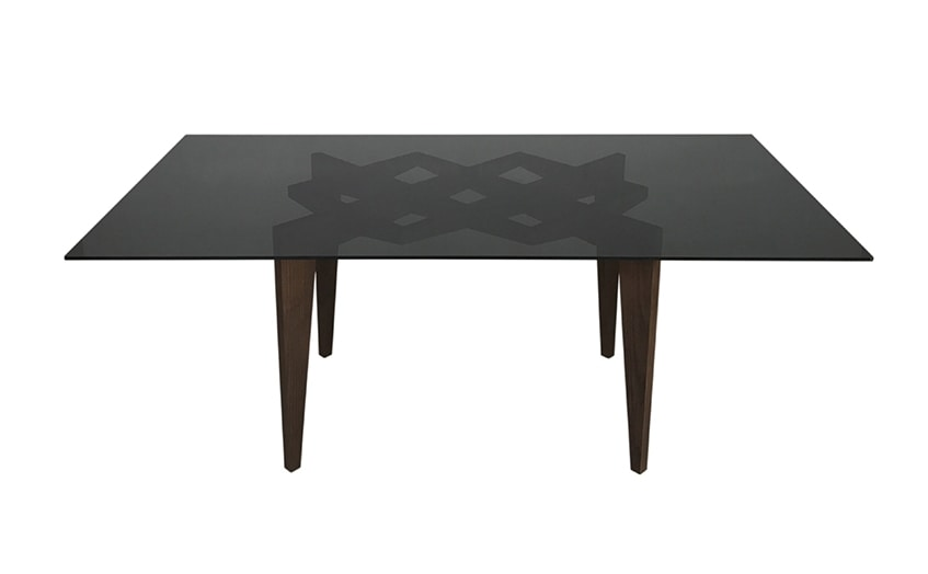 Spider 5729/F, Table with glass top