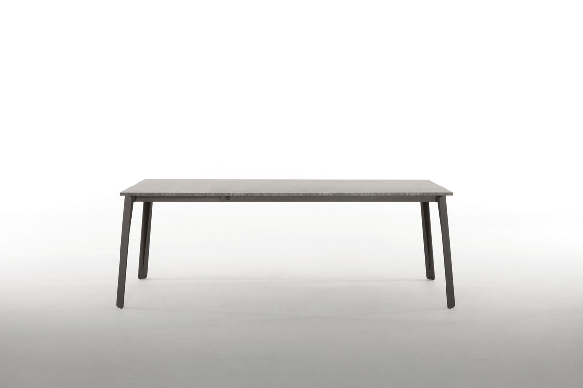 ALMA, Extendable table, with metal base