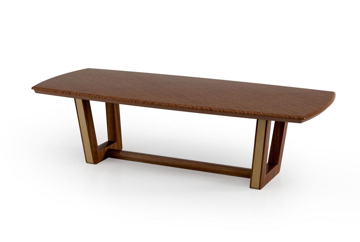ART. 3426, Wood and metal table