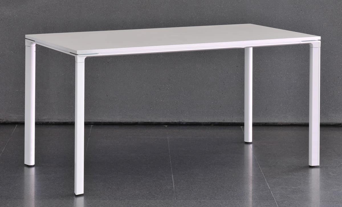 Meet - U, Table modular with aluminum structure