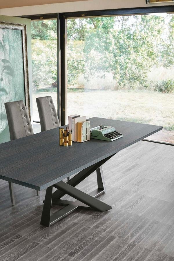 PRIAMO 230 TP165, Elegant dining table