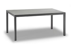 TAVOLO MESSICO, Table in anthracite painted aluminum