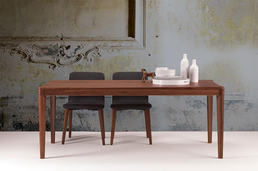 Alicante Table, Wooden table for the dining room and the kitchen