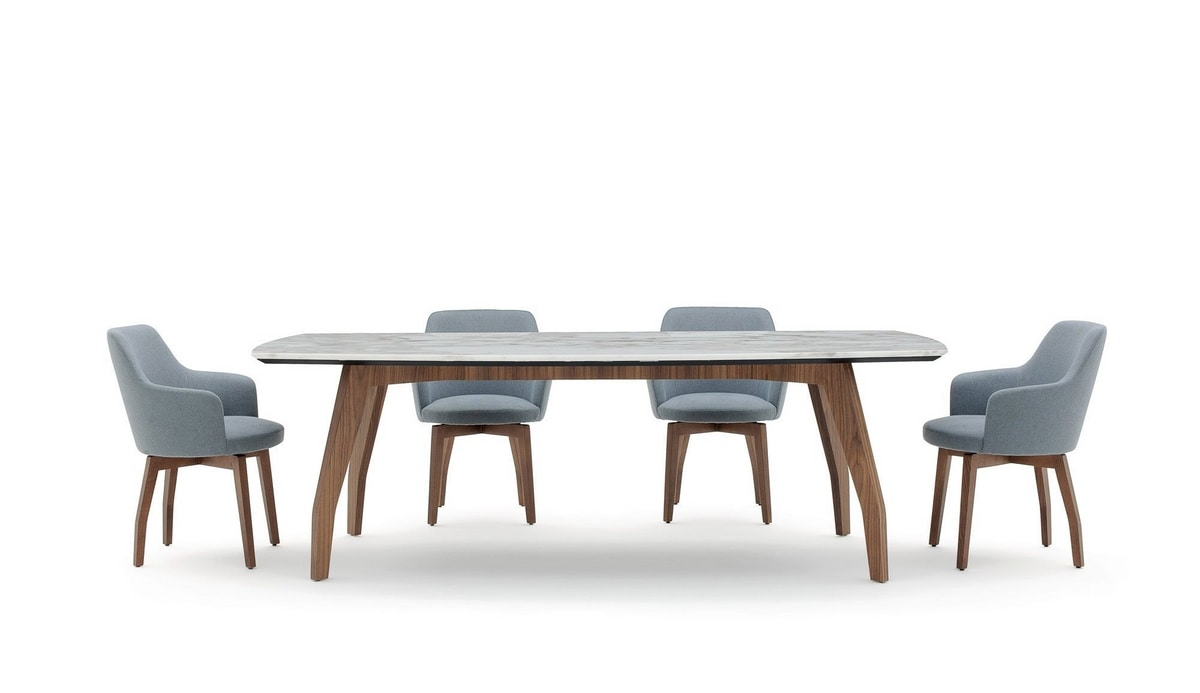 Allen1, Table with marble top