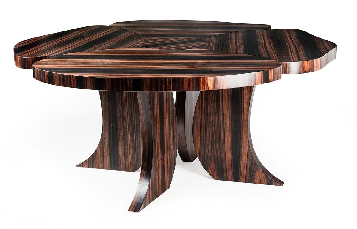 Andy Ebony, Ebony wood table