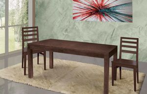 Art. 669, Wooden table for modern and refined living area