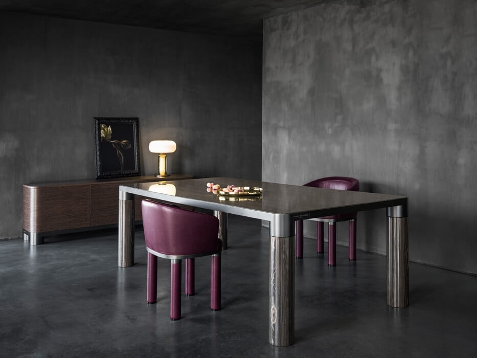 Bold Dining Table, Elegant dining table
