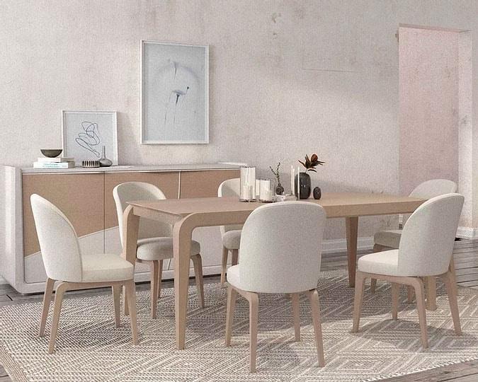 Desi, Elegant wooden table