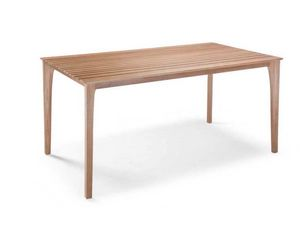 E17, Table with wooden slats top