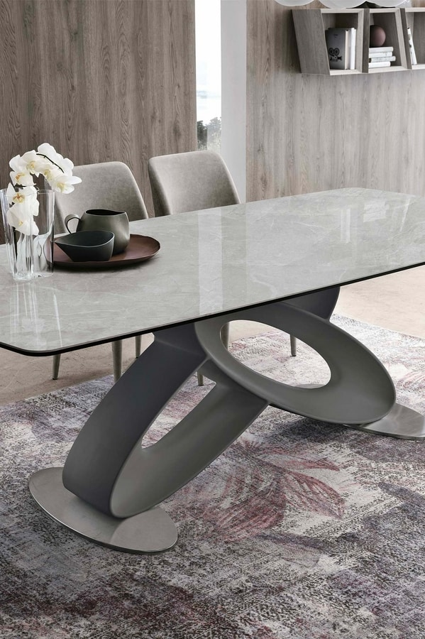 ECLIPSE 230 TP405, Table with barrel-shaped top