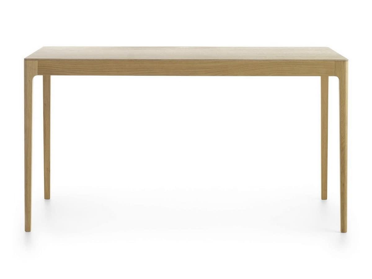 Esse ET, Rectangular table in solid wood