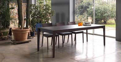 Every, Extendable wooden table