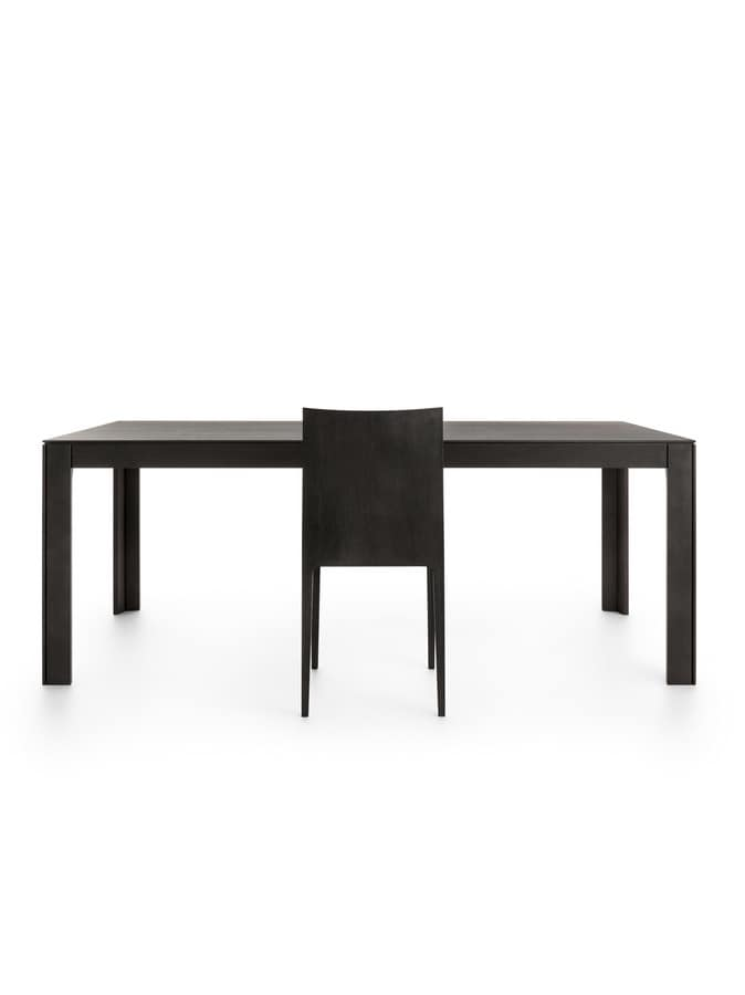 Nara 200, Rectangular table in solid wood