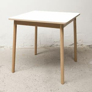Table Bolz, Square table, water-repellent and anti-mold