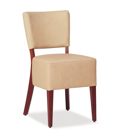 325, Chair with large upholstered seat