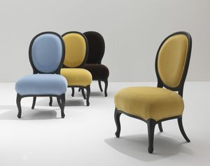 5305/G Rubens, Chair with oval backrest