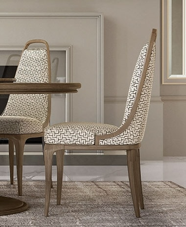 Alexander Art. A10, Solid ash wood dining chair