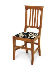 Art. 134, Dining chair with upholstered seat