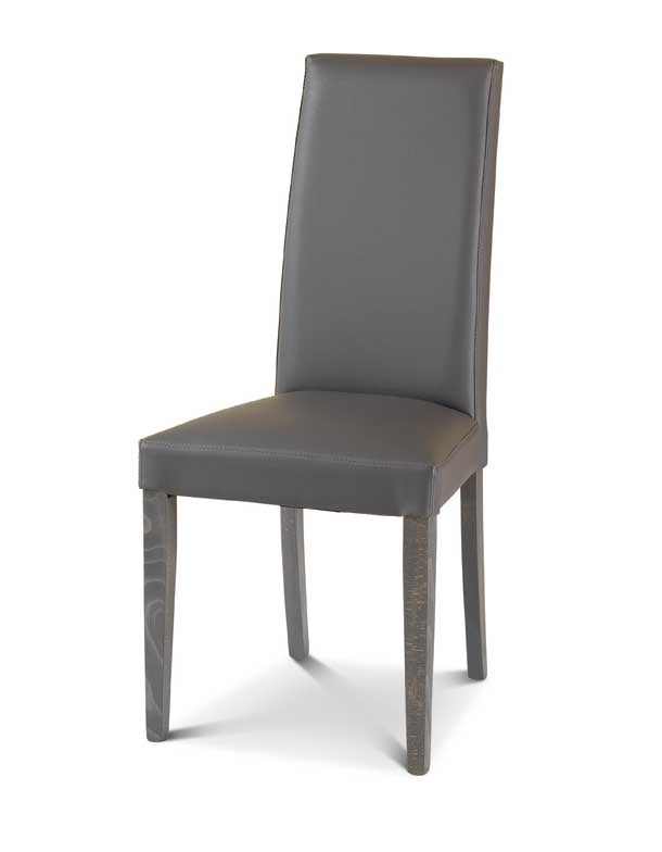 Art. 174/VC, Padded dining chair with high backrest